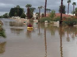 desert floods